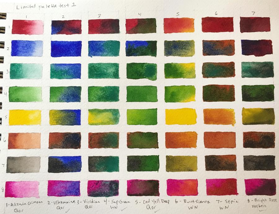 Limited palette test 2
