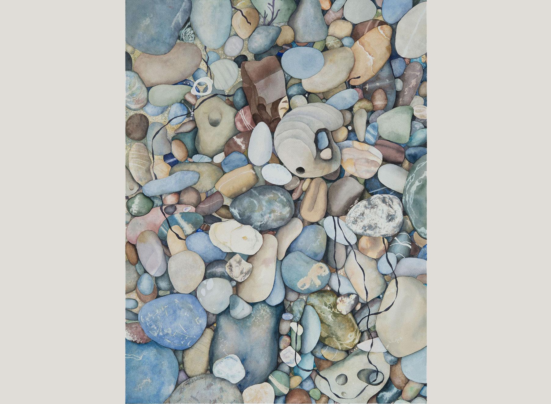 Pescadero Beach Pebbles