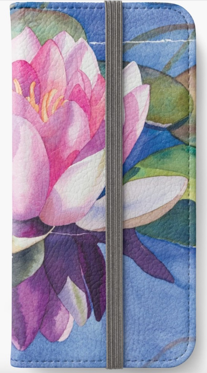 Pink-Water-Lily-iPhone-Wallet-1.jpeg