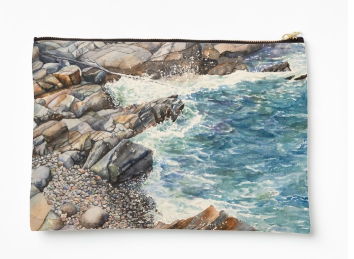 New! Maine Cove - This design is available in men's, women's and kids' apparel, home decor and gift items.