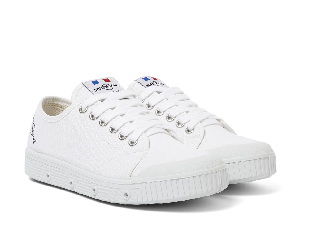 Womens Spring Court G2 Classic White
