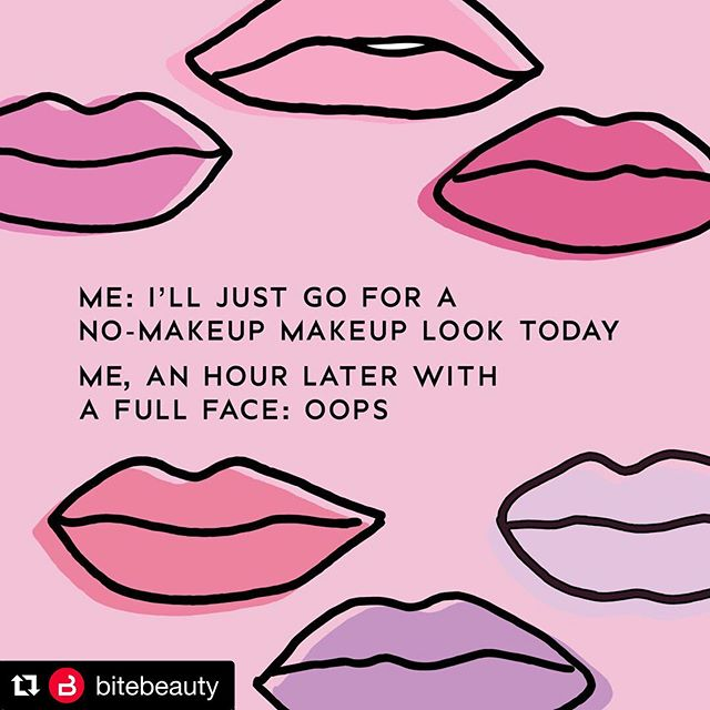 This is literally me most days haha 😂💋 ・・・ #Repost @bitebeauty with @get_repost #bitebeauty #oops #makeup #makeupartist #makeupartistproblems #makeupproblems #thatescalatedquickly #totallyme #me #storyofmylife