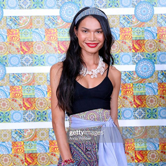 Delayed post from Wednesday. I was honored to be a part of the @beautymarksnyc team for another @marisol_deluna_new_york  fashion show. Always great vibes backstage 💕 @gettyimages