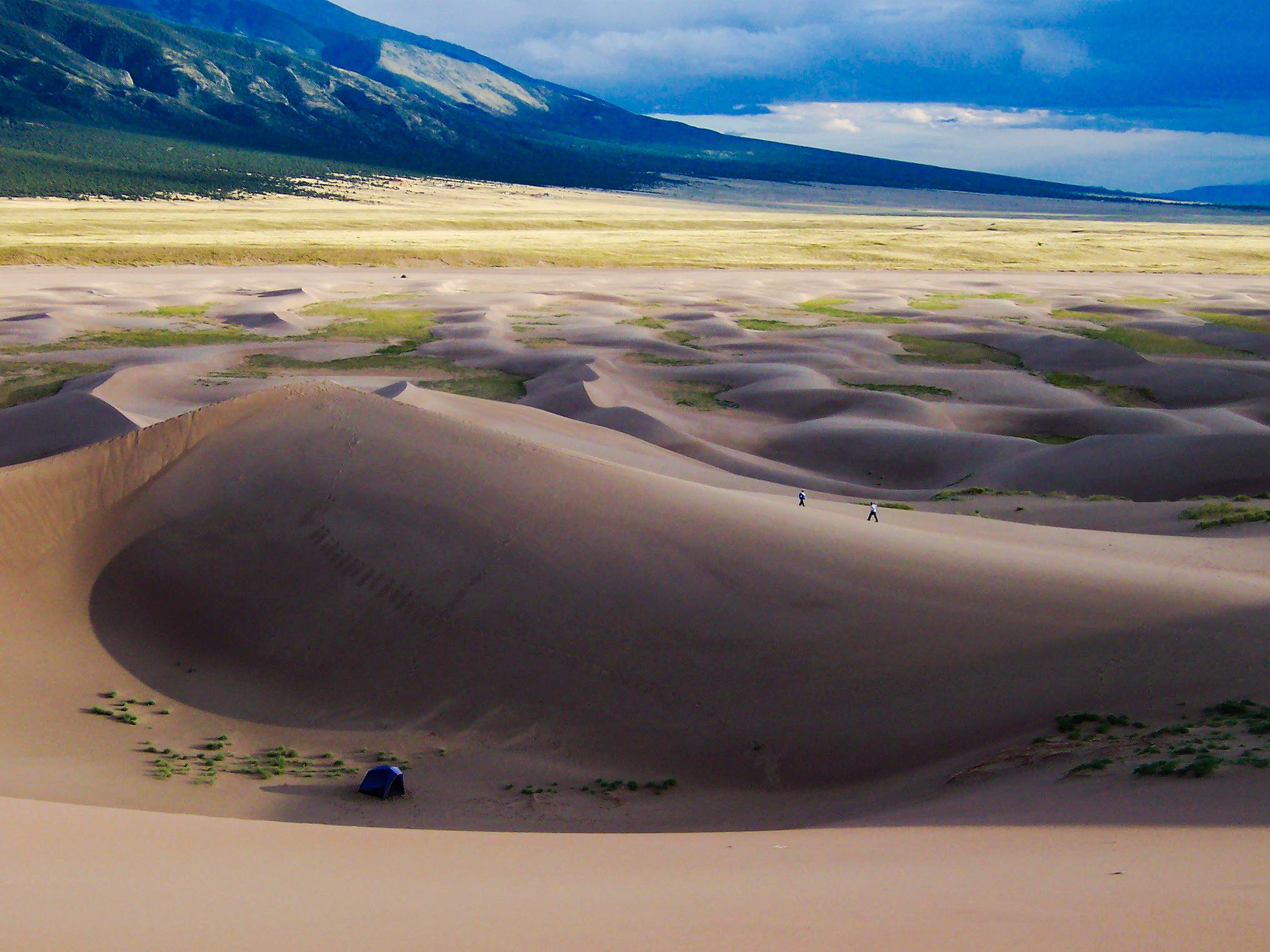 Backcountry Camping In Great Sand Dunes National Park