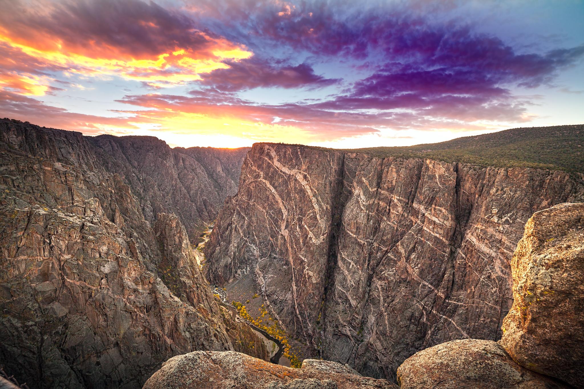 The Painted Wall Of Black Canyon -  ©Susan Humphrey -  (www.susanhumphreyart.com.)