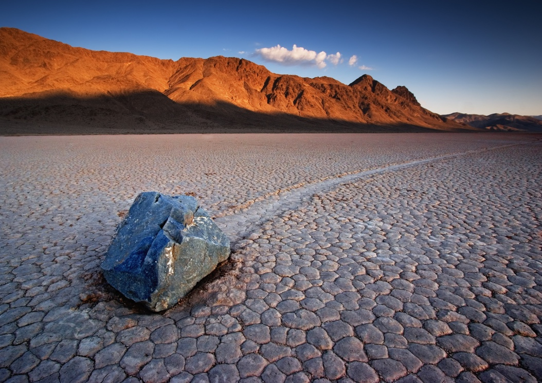 The Racetrack At Death Valley National Park - (PHOTO: BRYAN BRAZIL/SHUTTERSTOCK)