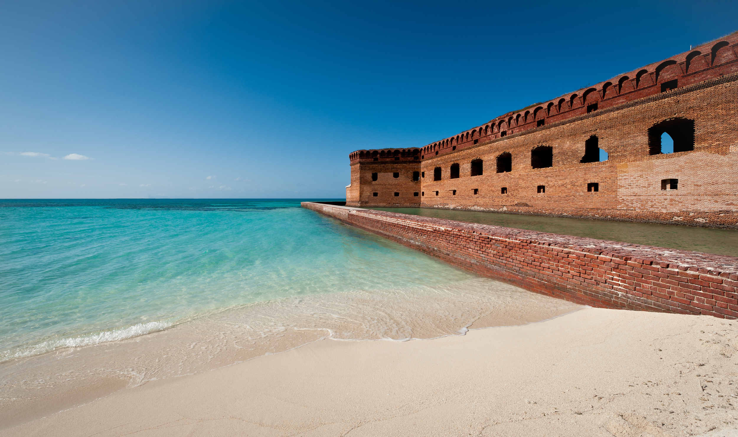 fort jefferson of dry tortugas national park – (PHOTO: NAGEL PHOTOGRAPHY/SHUTTERSTOCK)