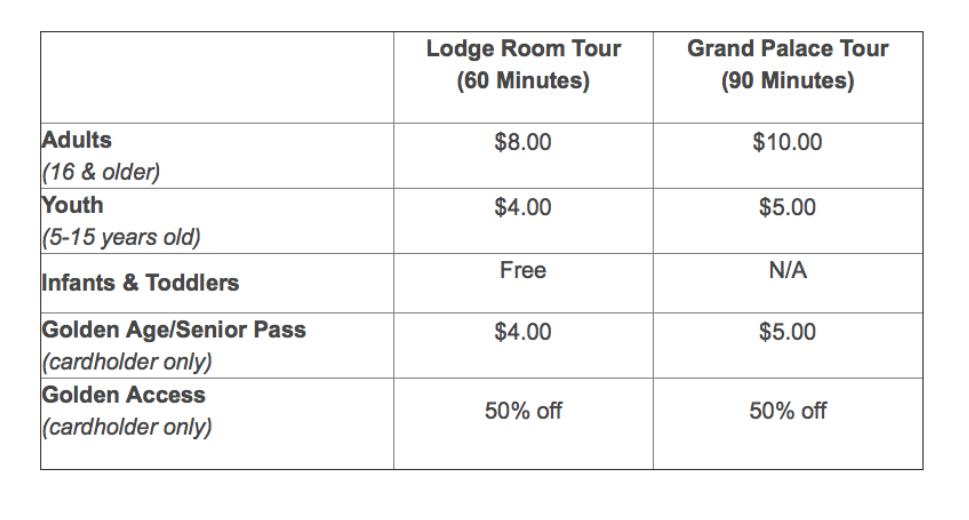 Lehman Caves Tour Ticket Prices