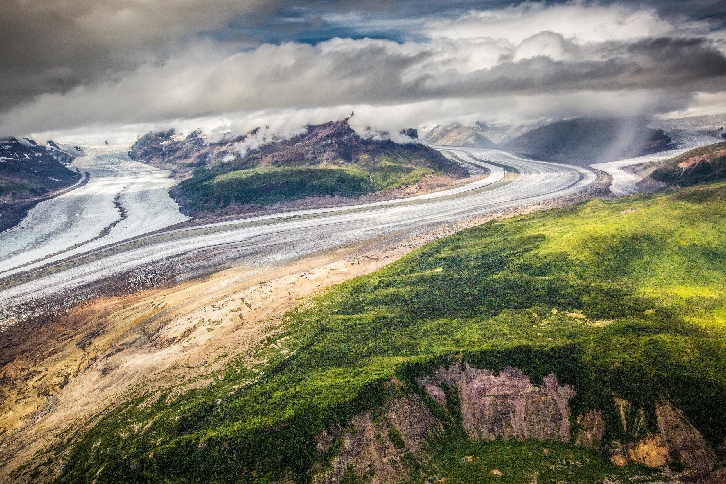 MOUNT CHIMNEY, REGAL GLACIER & ROHN GLACIER