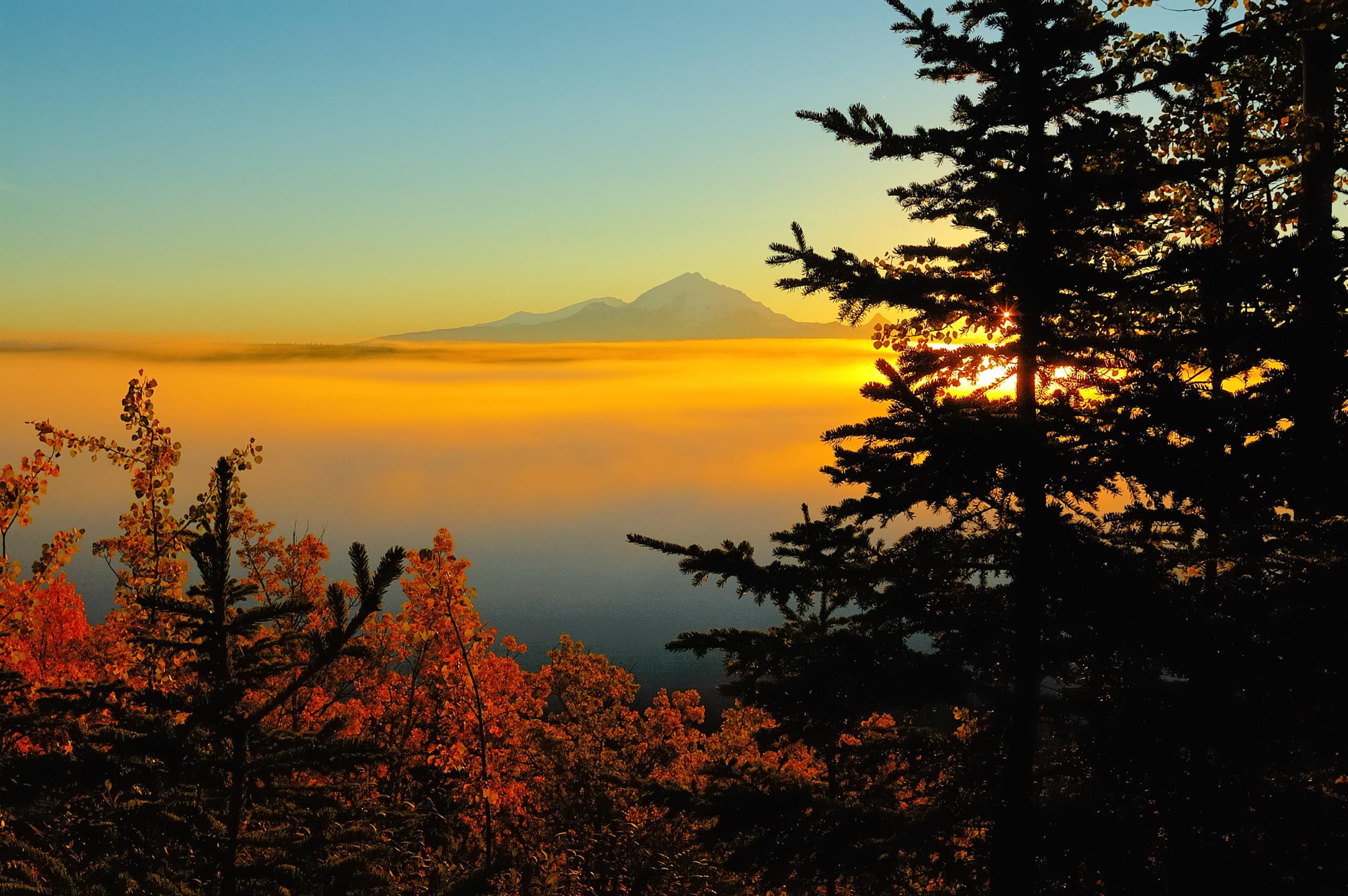 MOUNT DRUM AUTUMN SUNRISE