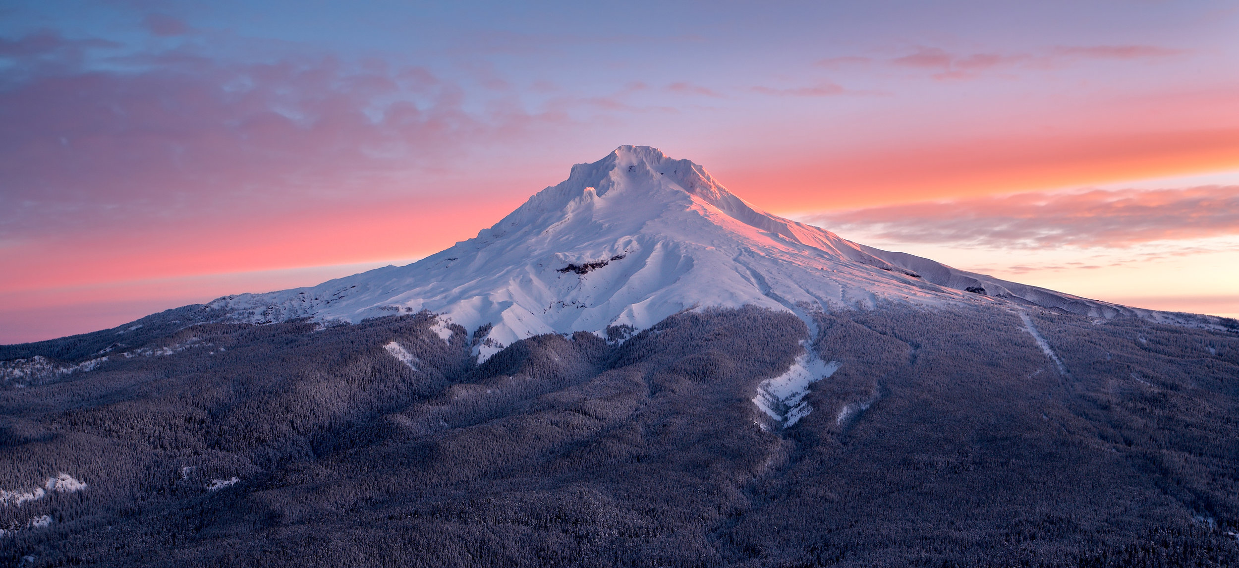 Mount Hood At Sunrise | Mount Hood National Forest – (Photo: Zschnepf/Shutterstock)