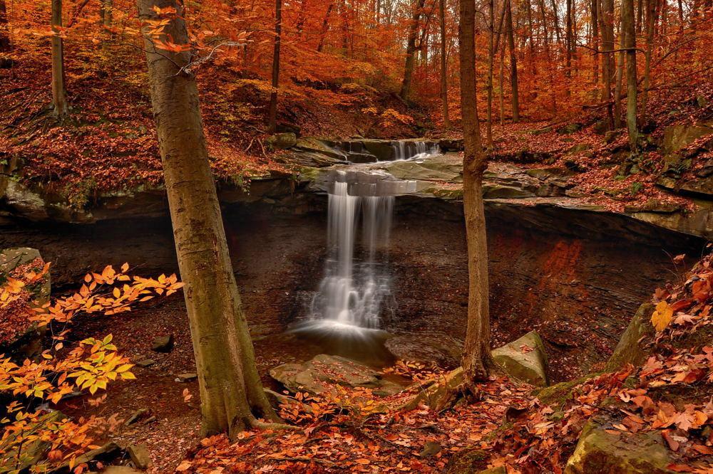 Blue Hen Falls | Cuyahoga Valley National Park | © Jeff Burcher