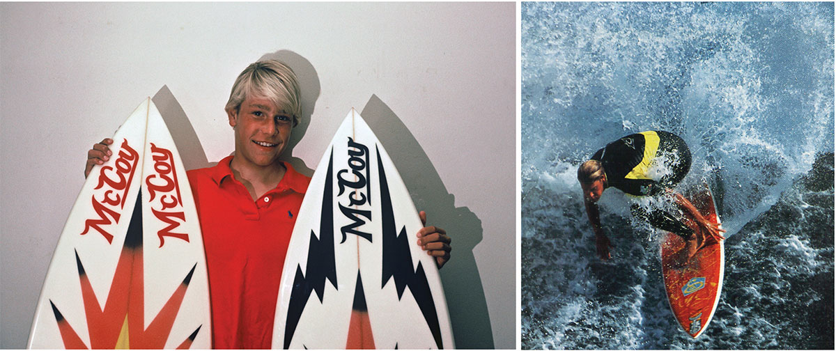 Young Jamie Brisick, via Outerknown