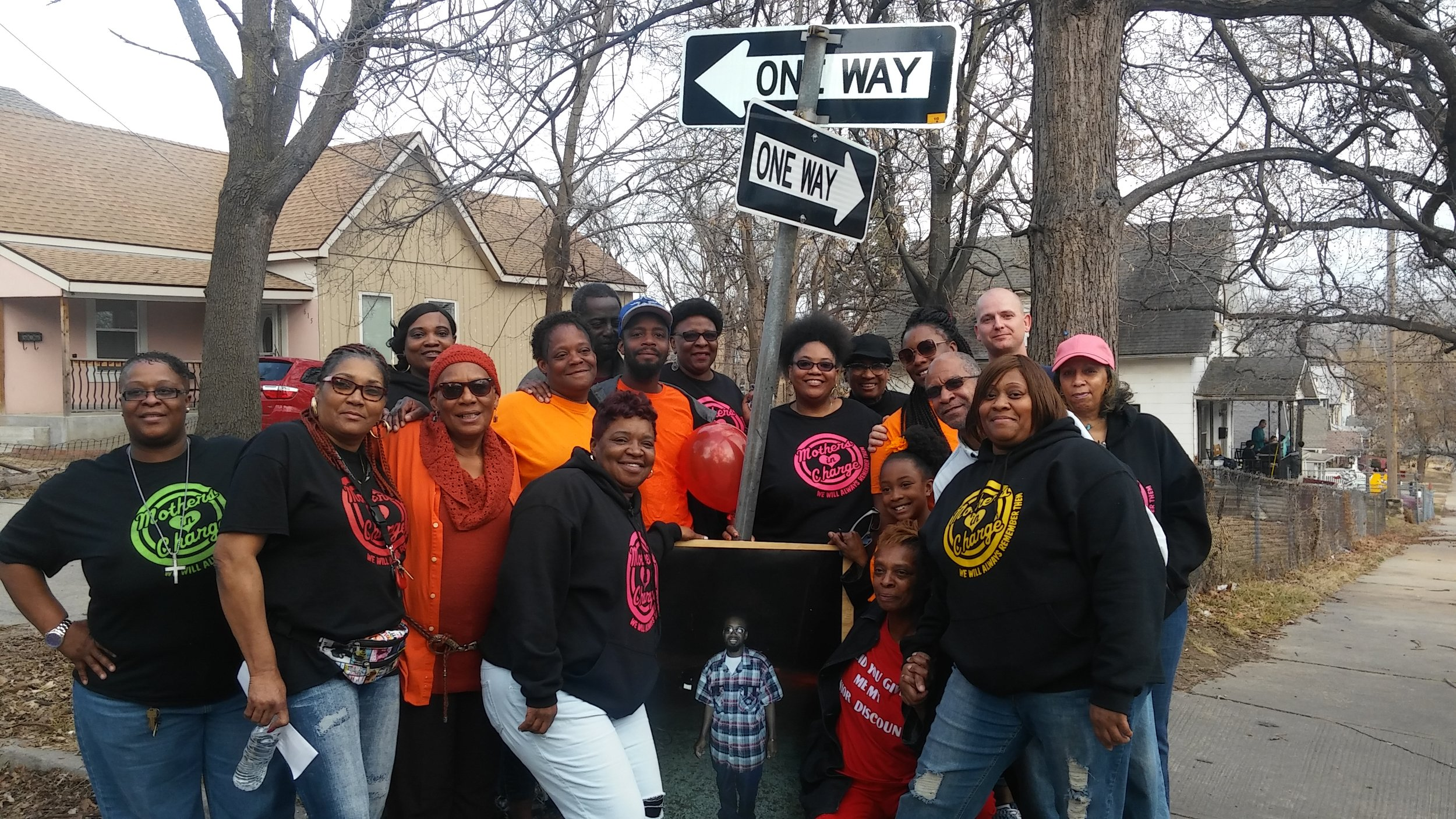 KC Mothers In Charge Canvasses for Nicholas Walker
