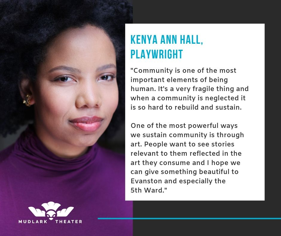 Co-Playwright for Foster School: A Living History, Kenya Ann Hall reflects on why this project matters.