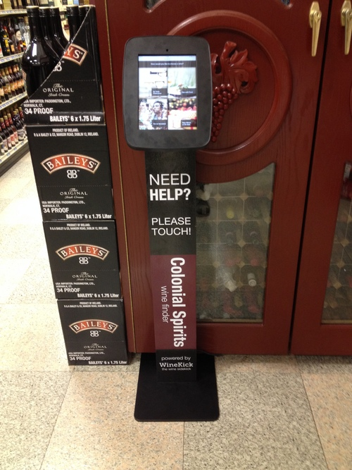 winekick kiosk