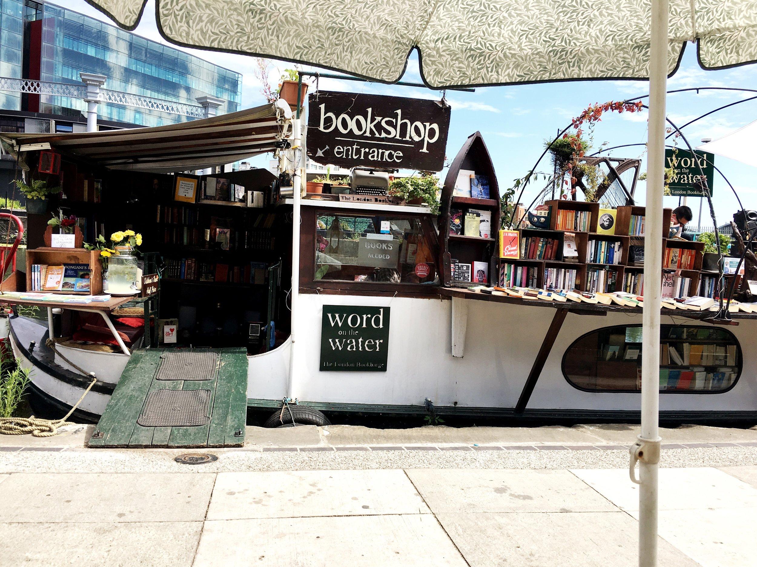 Floating Bookshop - King's Cross