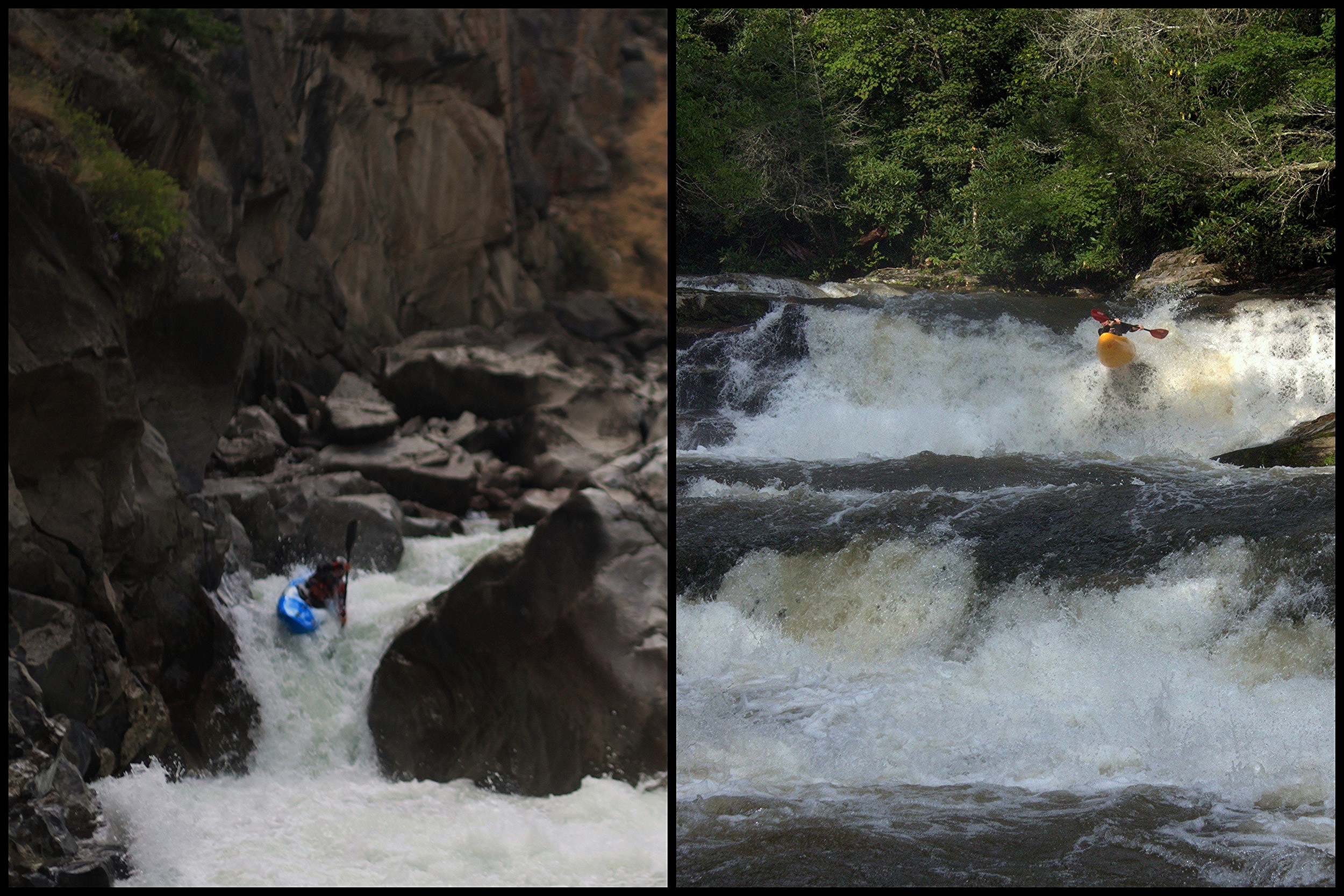 Water Boof - Jim Janney on the Clarks Fork        Author Rock Boofing in NC, by Jeff Moore