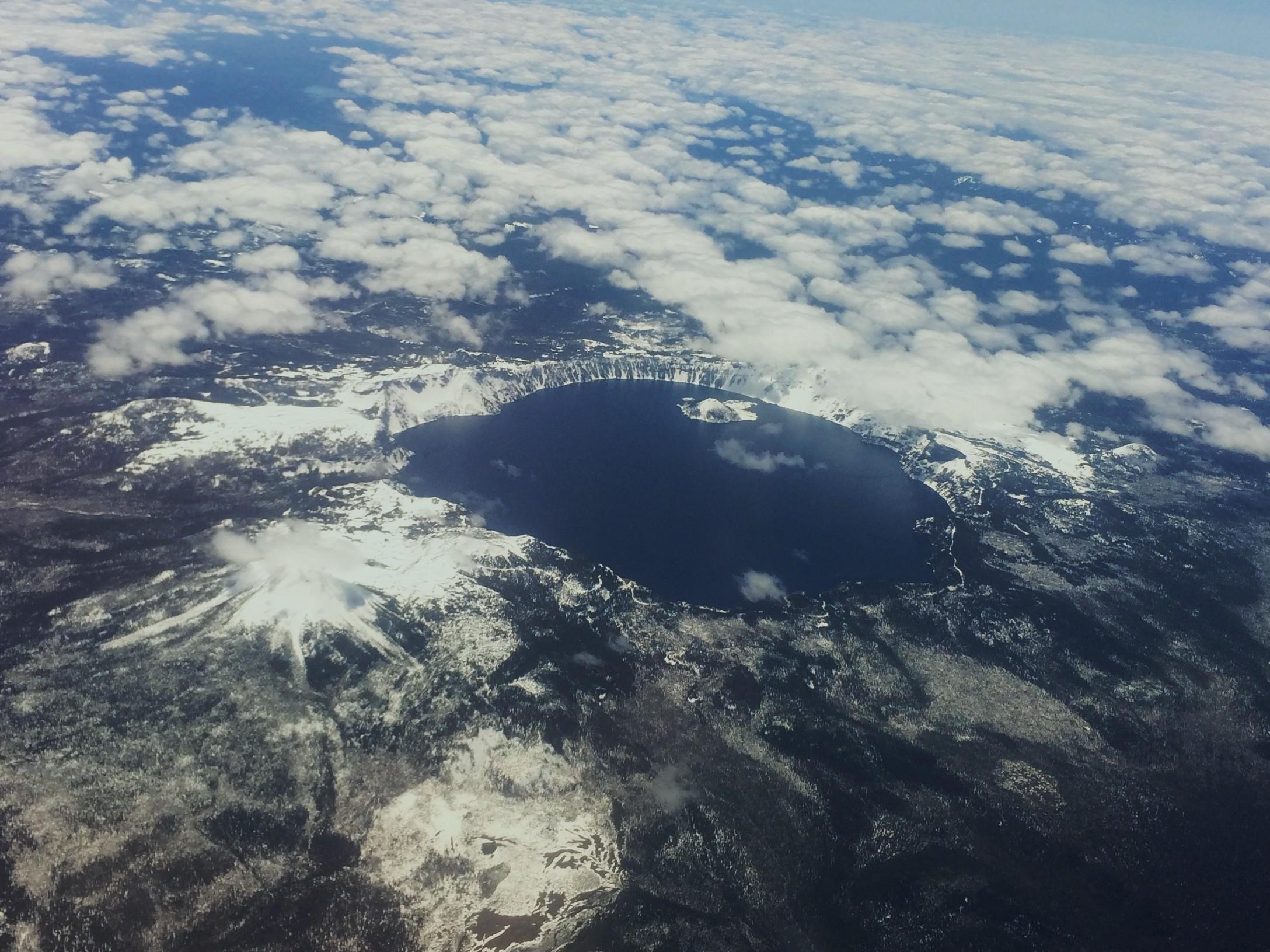 Free tour of Crater Lake, courtesy of Southwest