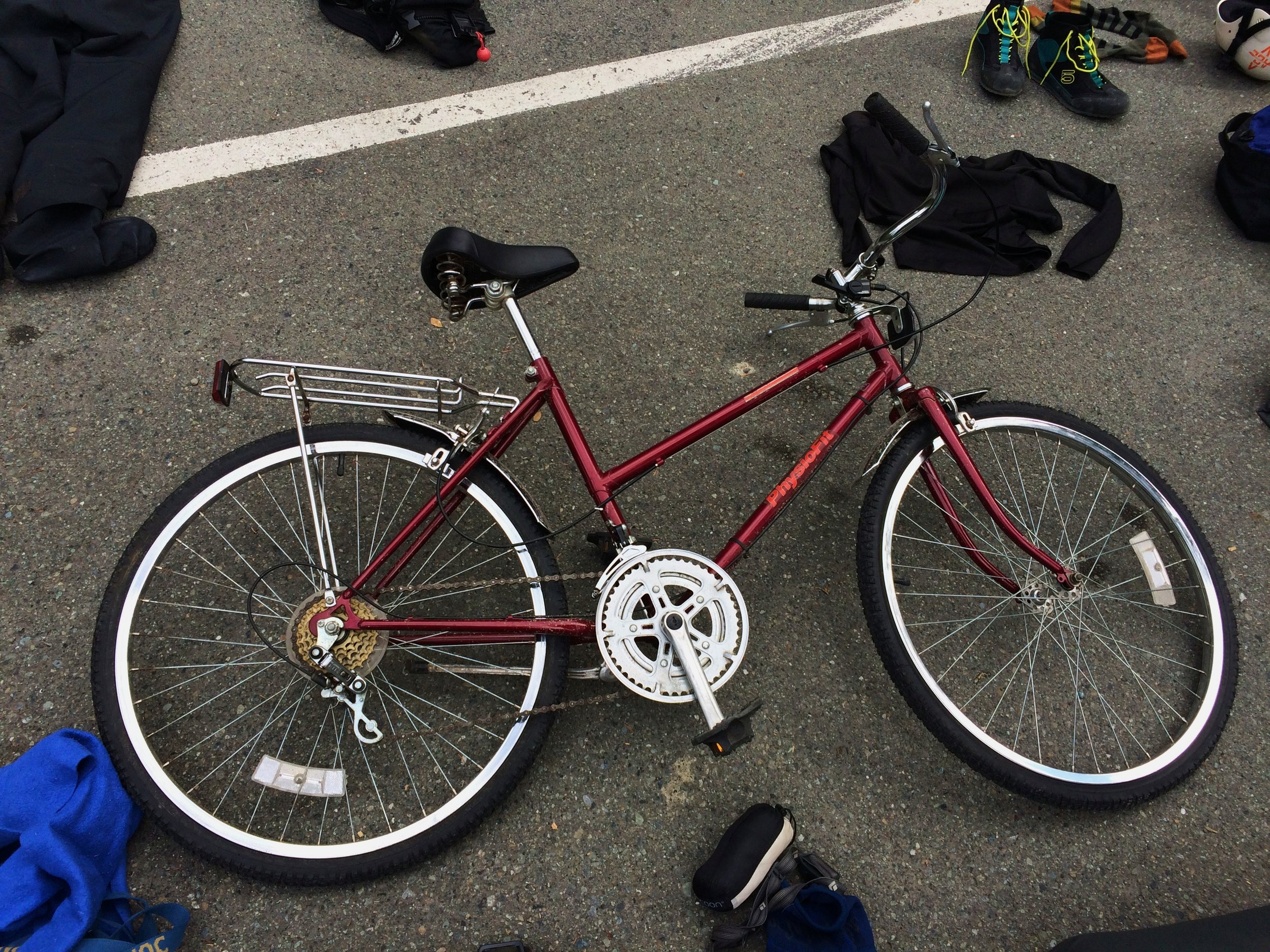 Lil' Red - I miss this sweet little bike.