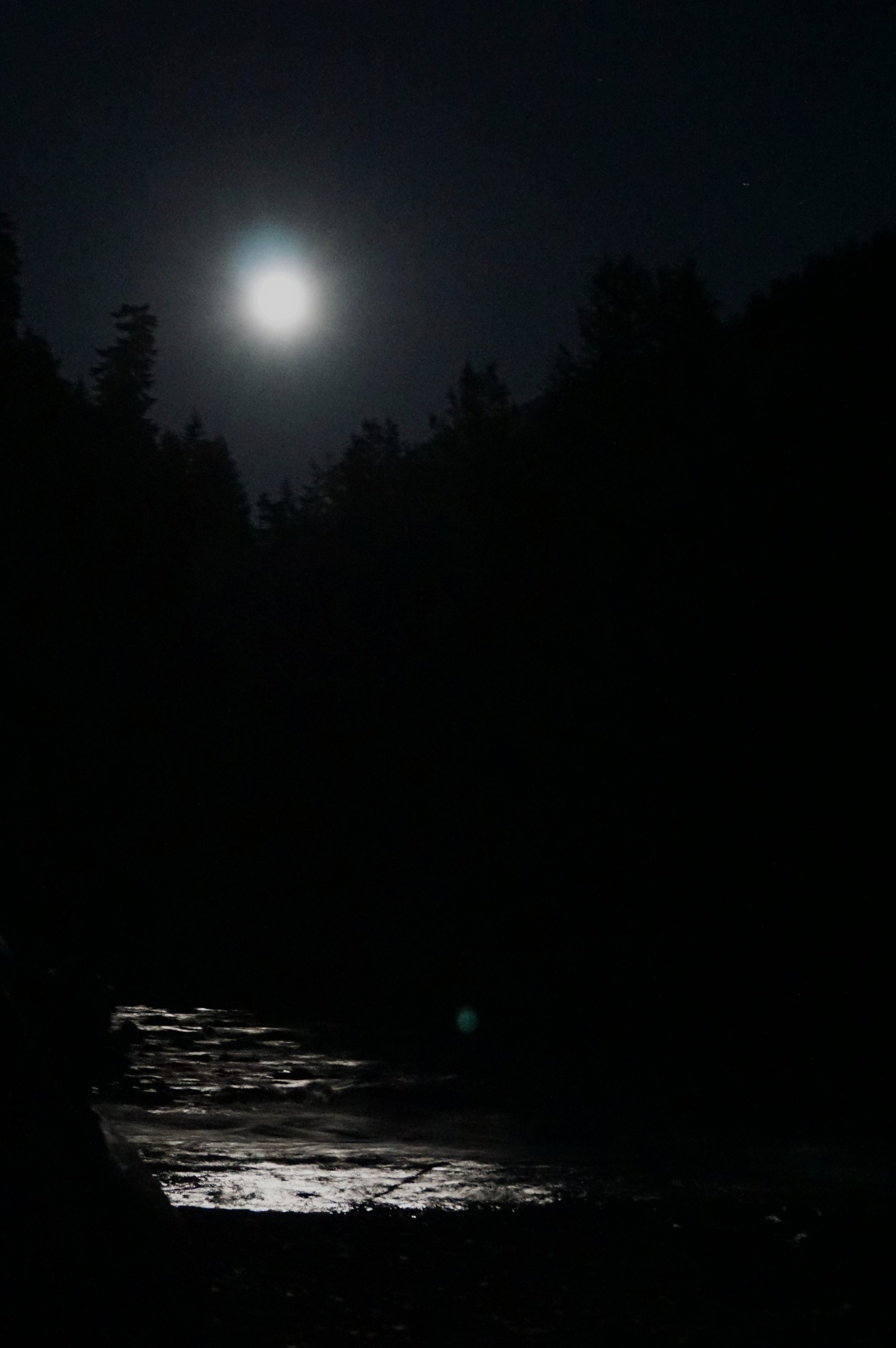 """I can't say exactly how many times I've been woken up by a full moon on a clear night, but I know that in each case I was sleeping on the ground. Who's to say how many of these distinctly earthen, human experiences we miss out on every day because of all of our """"progress""""."""