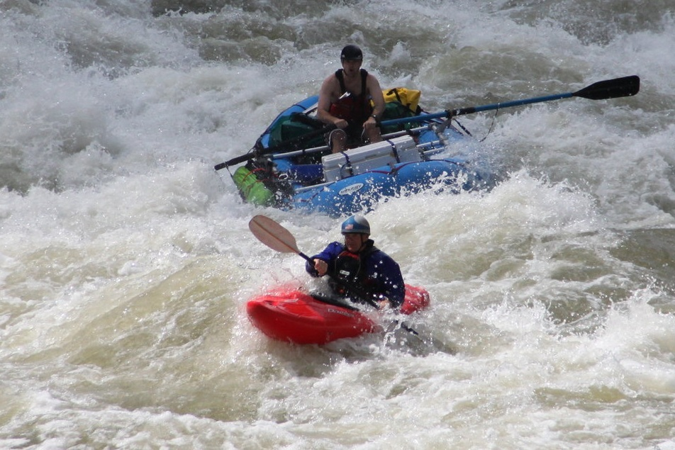 RAFT SUPPORTED MULTI-DAY KAYAKING