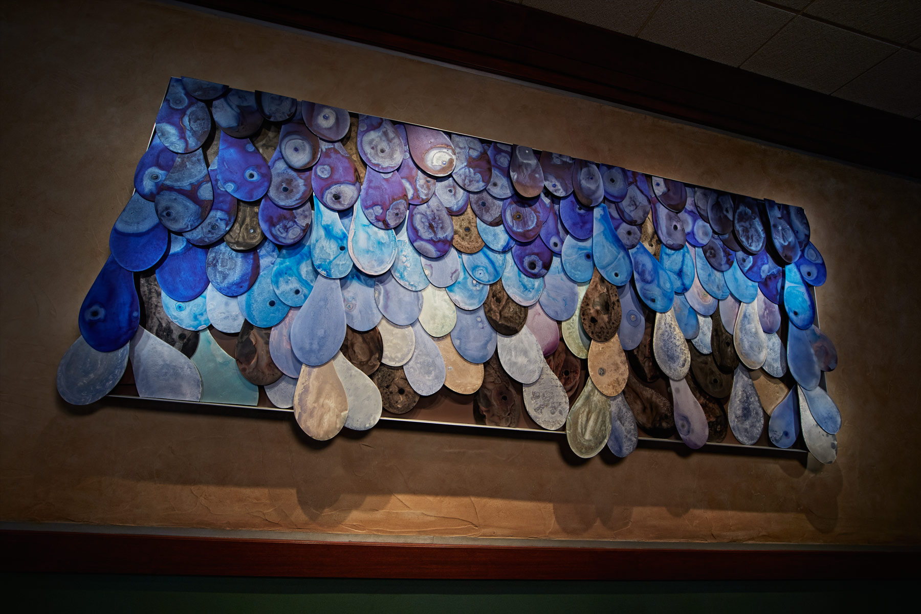River Club Wall Sculpture