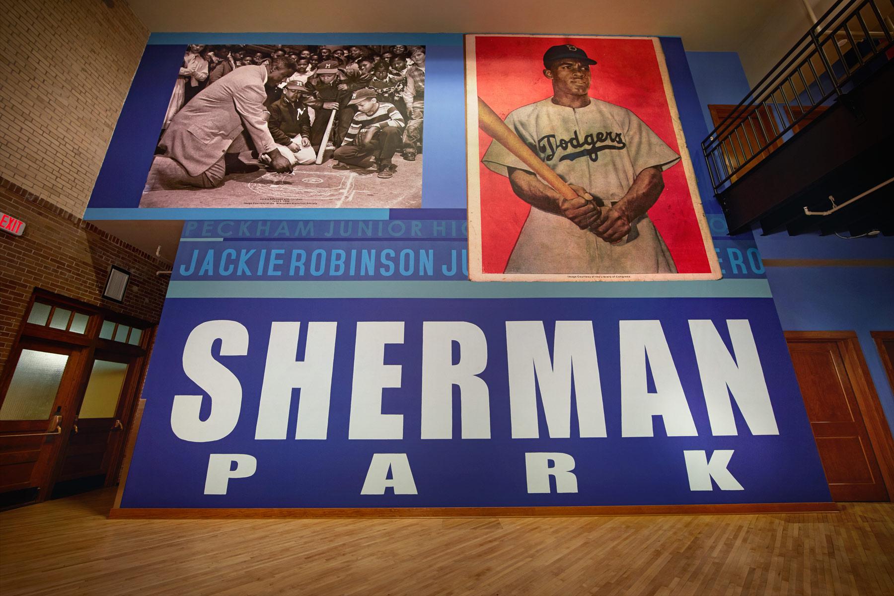 Sherman Park Commons Murals