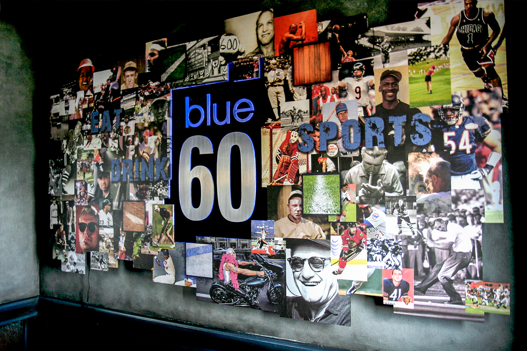 Blue 60 Environmental Branding