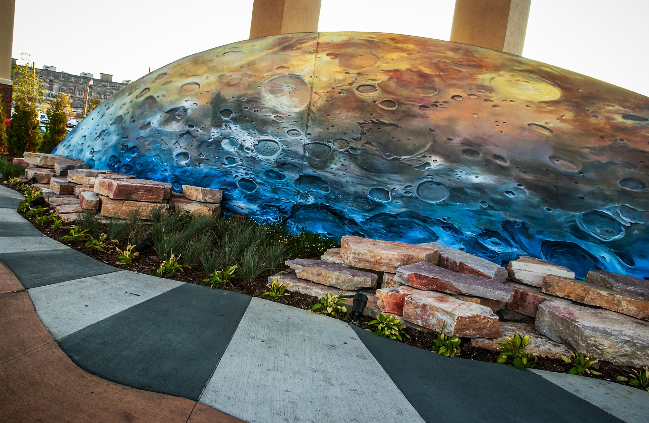 Potowatomi Moon Mural