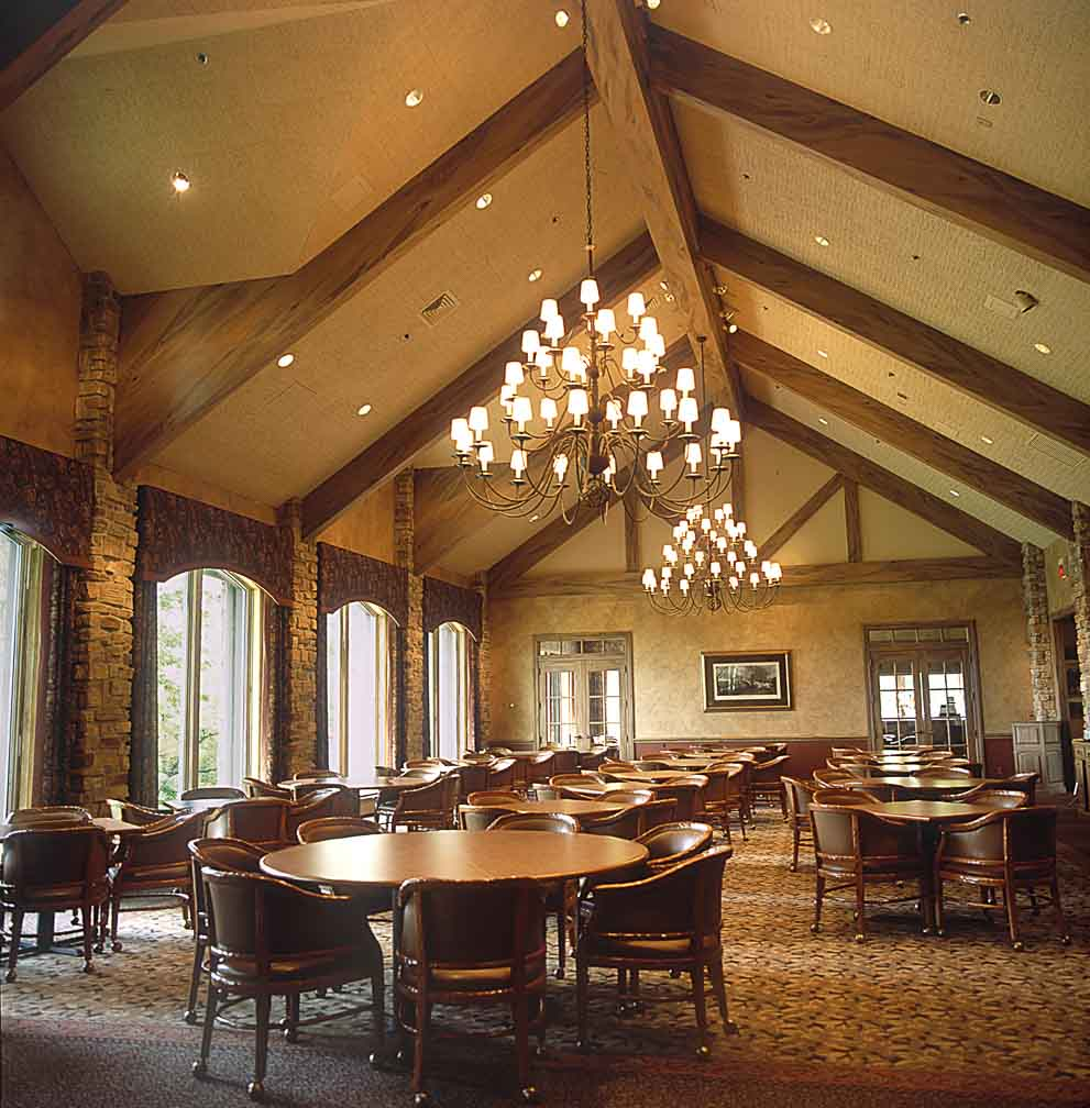 Racine Country Club Dining Area