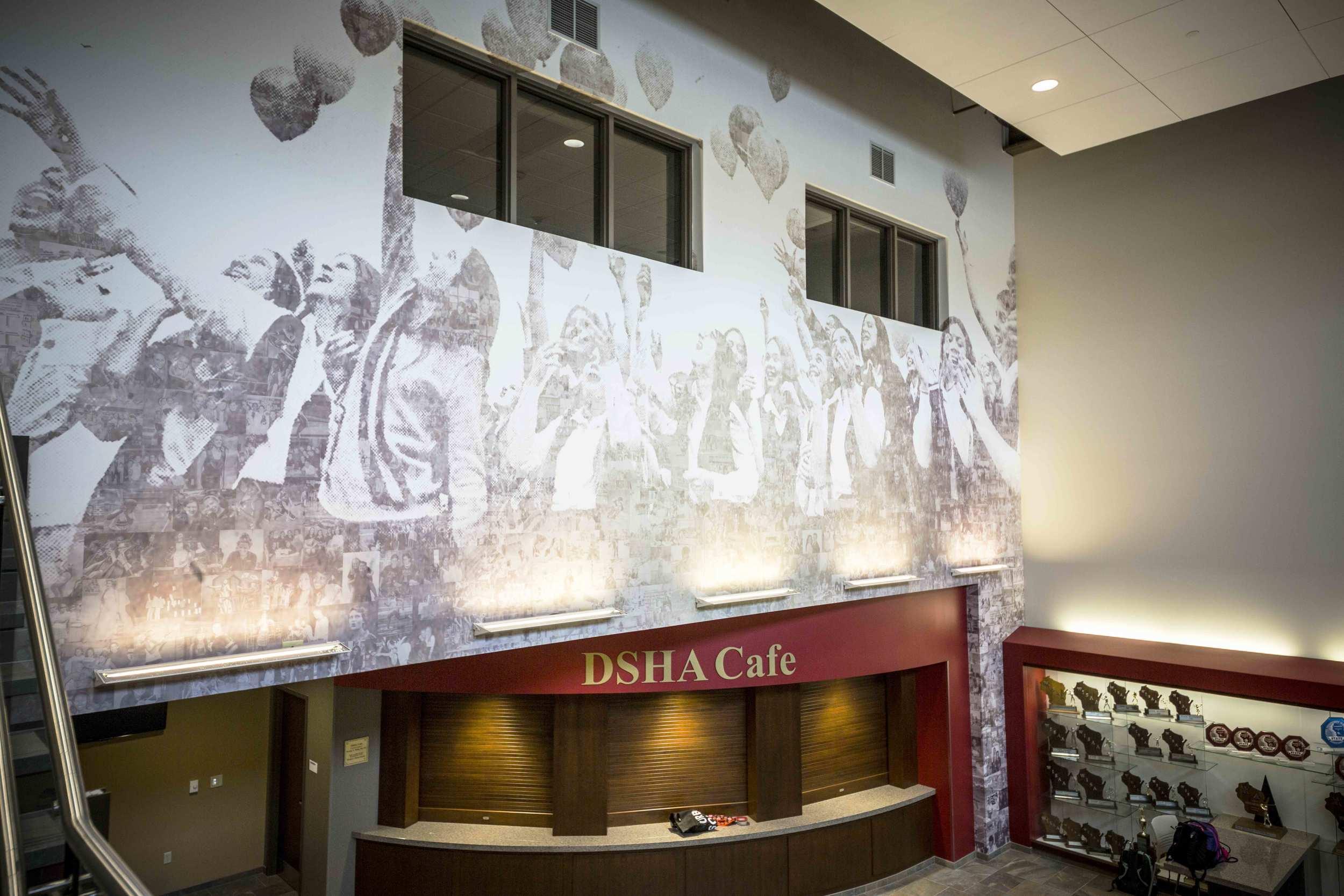 DSHA High School Commons Mosaic Mural