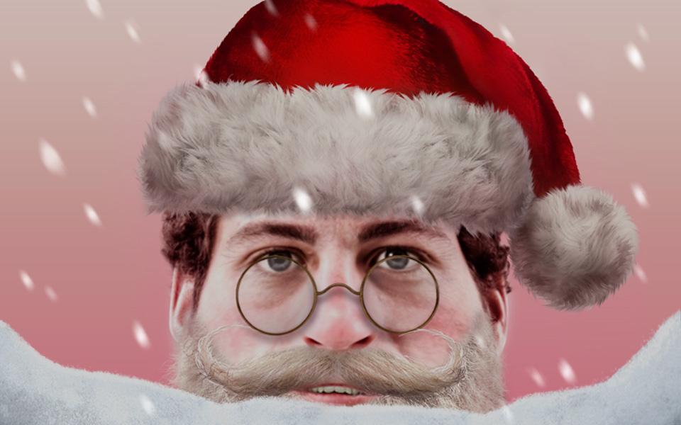 <h1>Santify</h1> <h2>Be Santa, Rudolph, Scrooge & more!</h2>