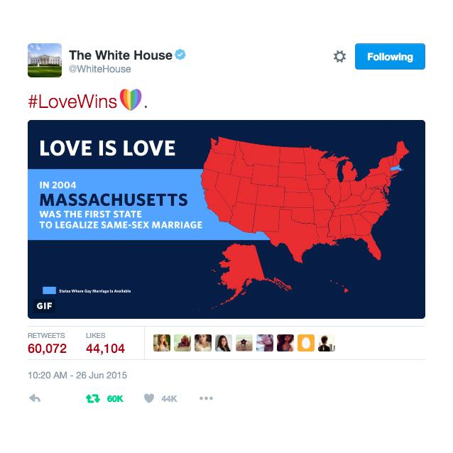 Most Retweeted White House Tweet