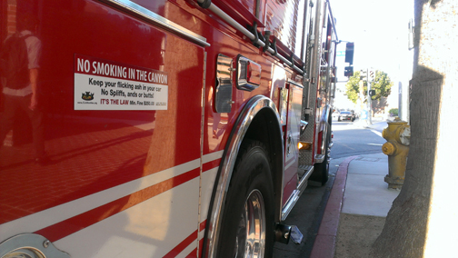 The LA City Fire Department supports our signs!