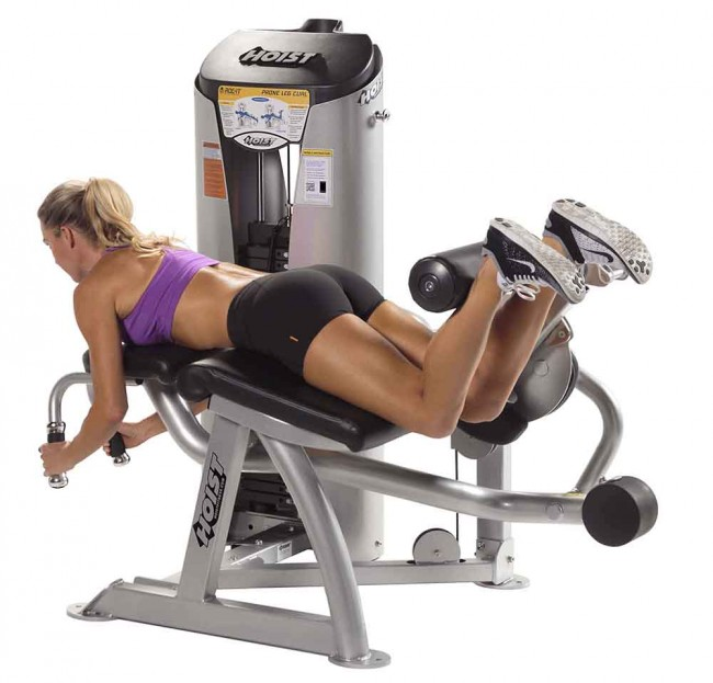 woman leg extension machine for lean legs and toned butt