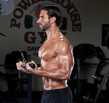 reverse grip underhand pull down workout for bigger triceps