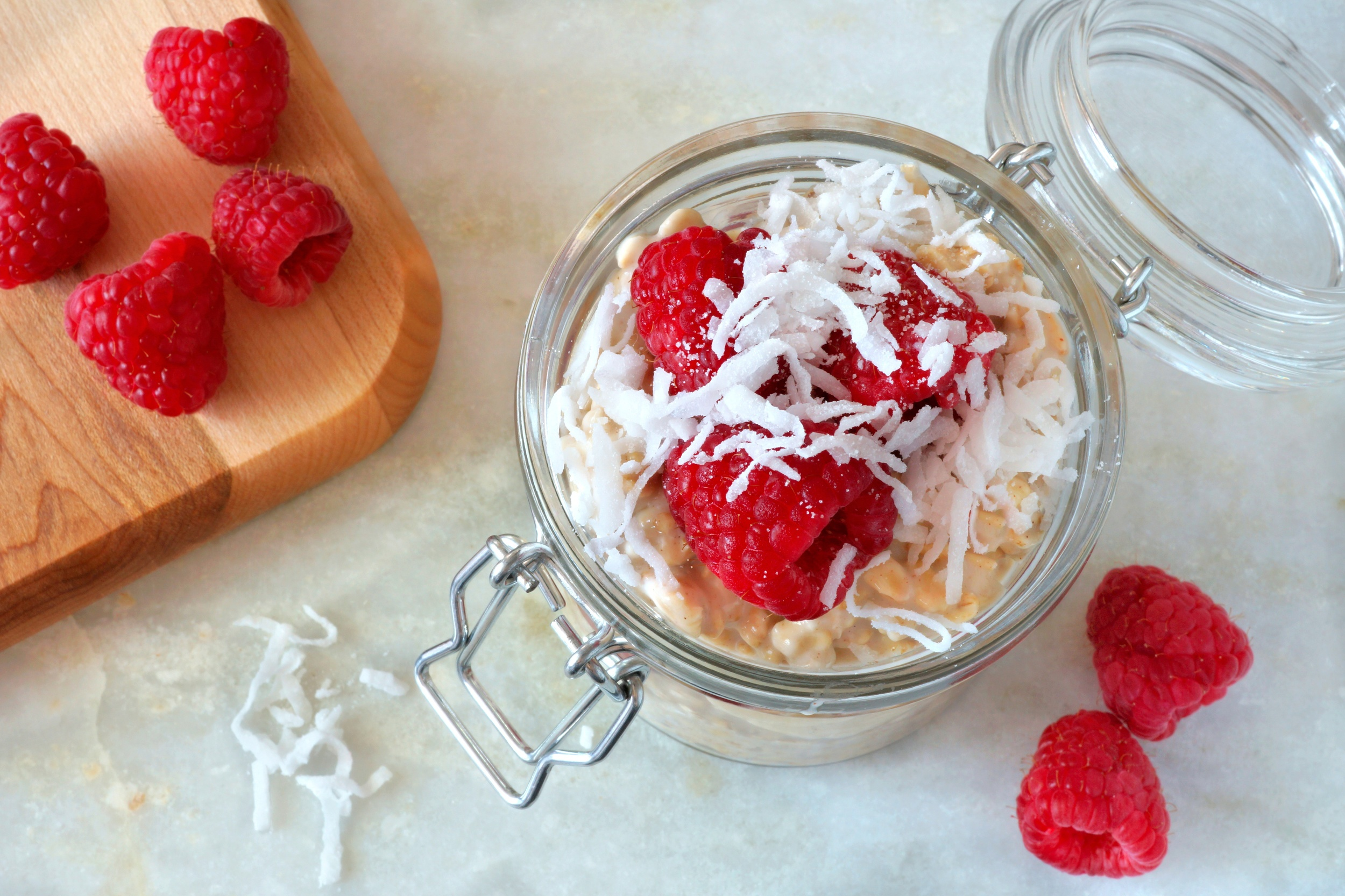 overnight oats healthy recipe for breakfast