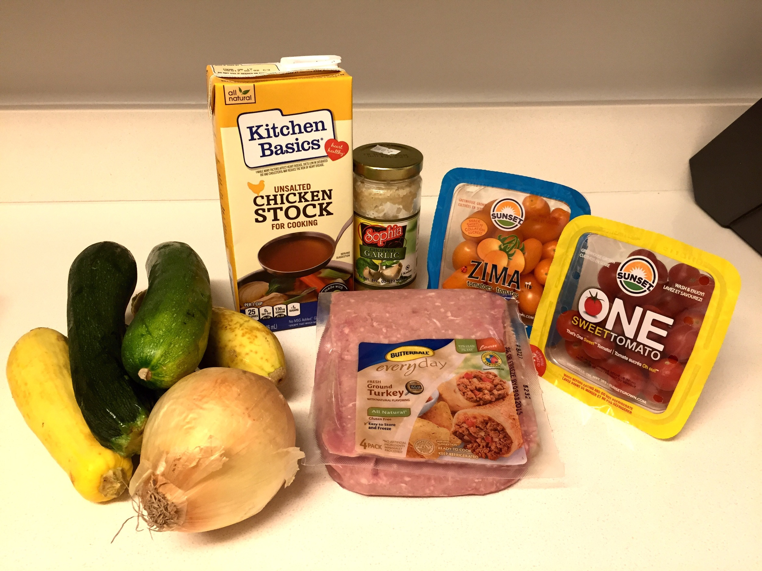 ingredients fro zucchini risotto recipe healthy