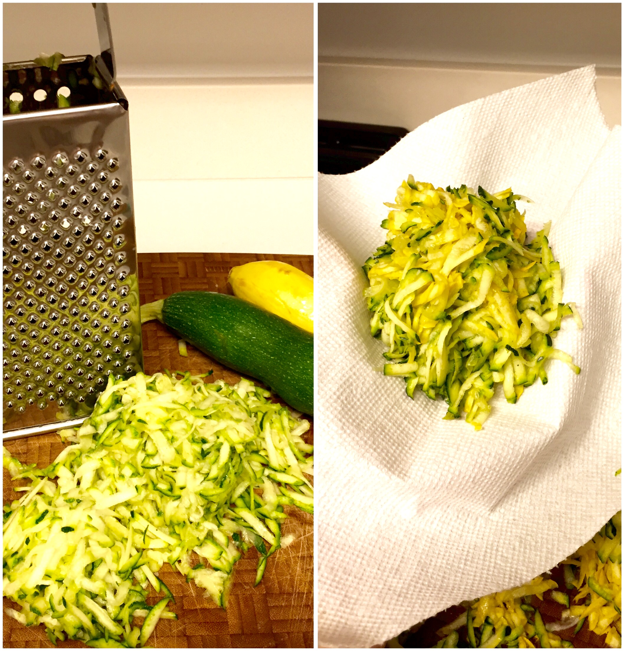 zucchini shredded for rice