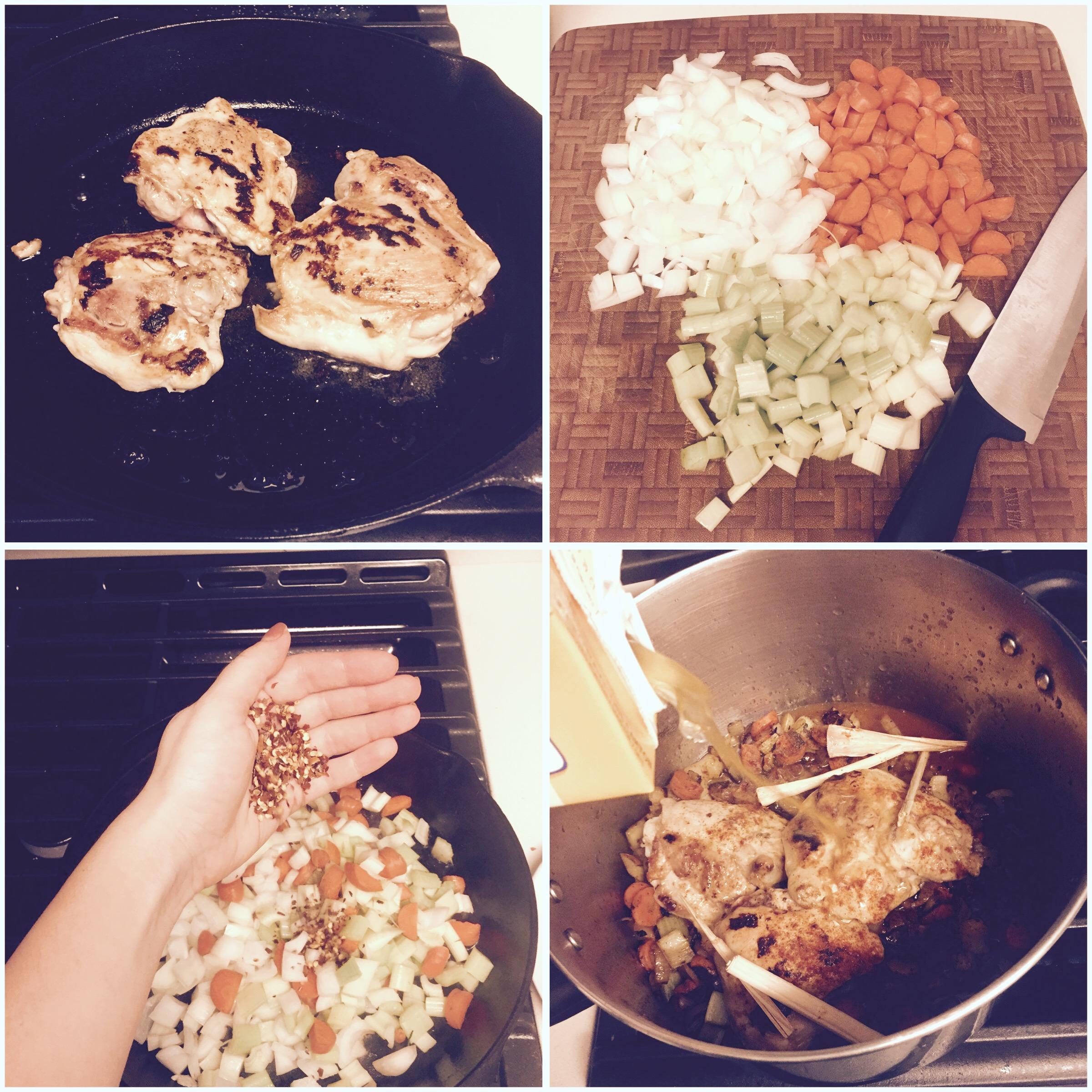 chicken noodle healthy soup low sodium recipe