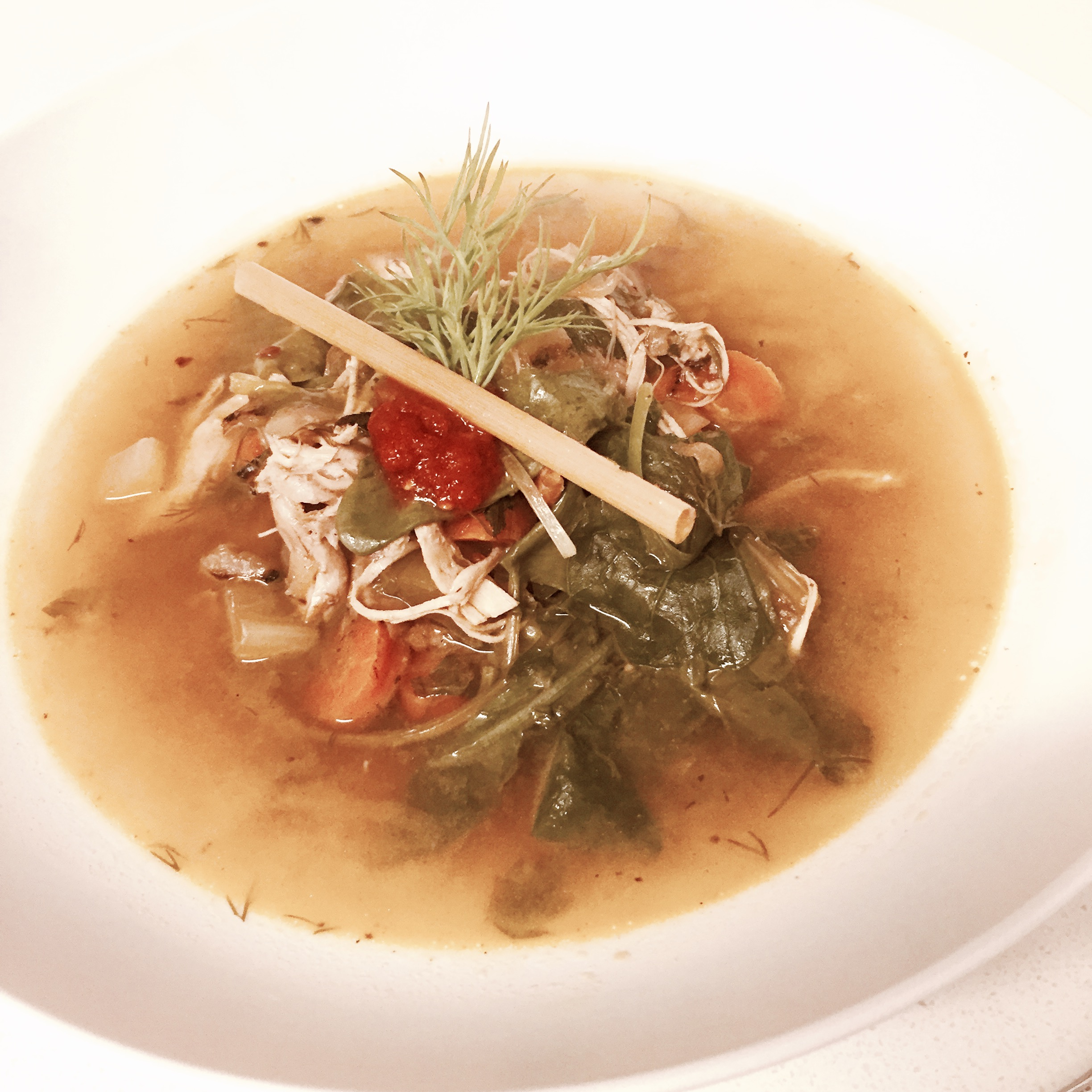 healthy chicken soup low carb gluten free