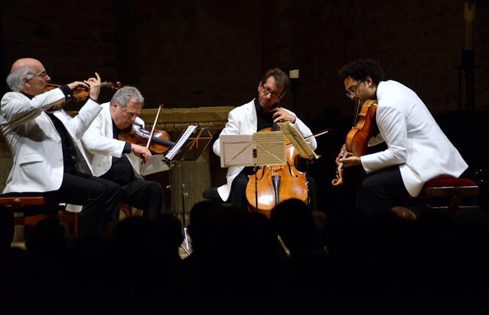 Fine Arts Quartet Live @ Casals Festival in Prades