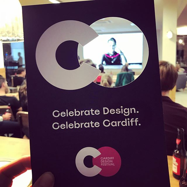Nice one Gareth #cardiffdesignfestival2019  #cardiffdesignfest
