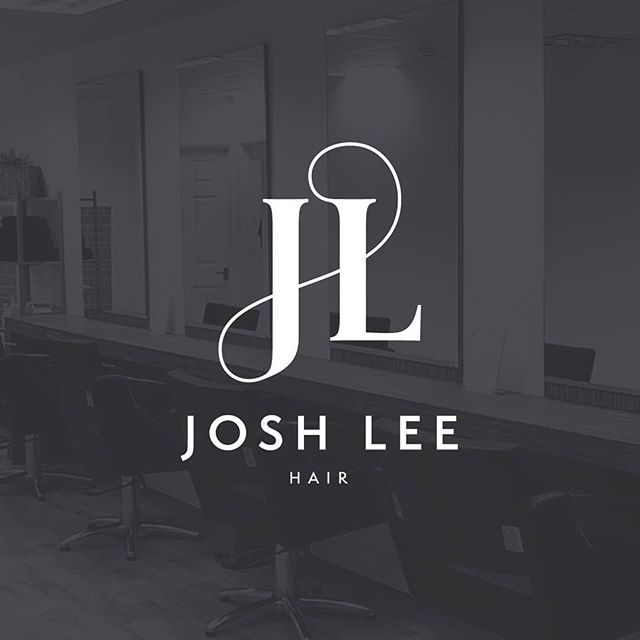 Really enjoyed working on this branding project for @joshleehair  #branding #design #graphicdesign #typography #logo #logodesign #logodesigner #monogram #customlettering #lettering #salon #hair #style