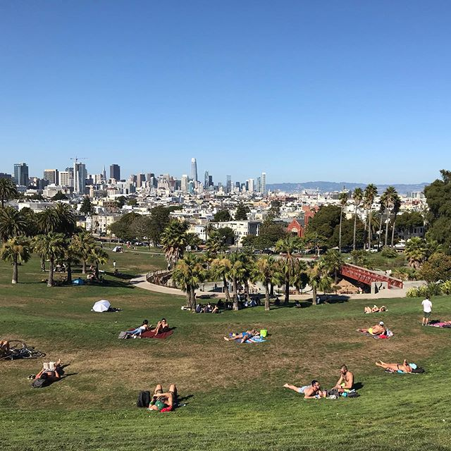 Mission Dolores Park, San Francisco 😎