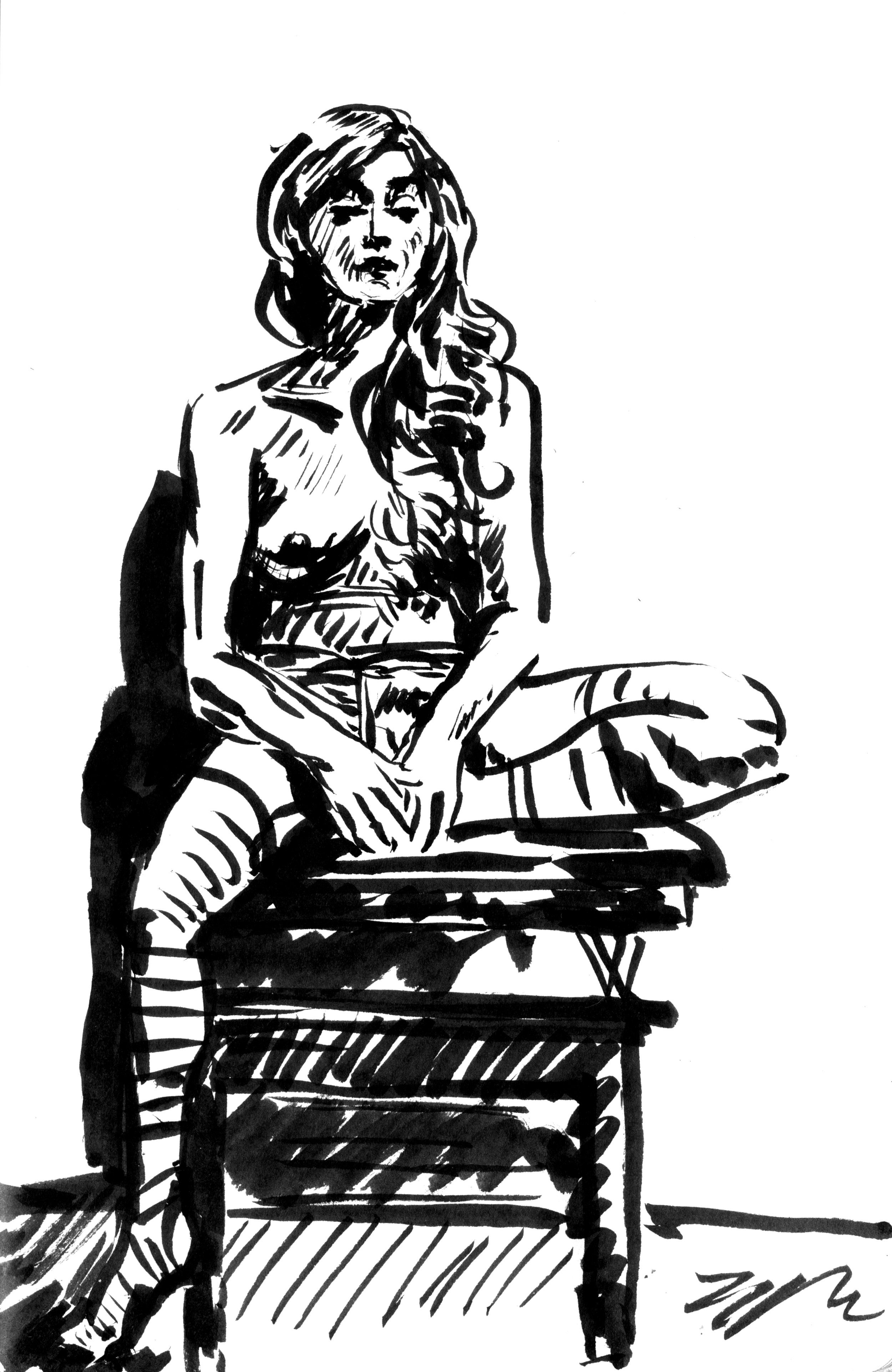 figure drawing, 2018