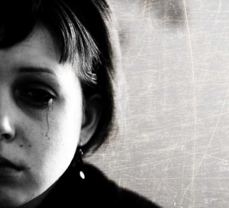 """""""Sadness"""" by Sasha Wolff from Grand Rapids - Sadness 90/365. Licensed under CC BY 2.0 via Wikimedia Commons"""
