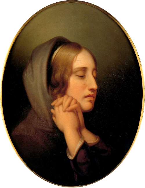 """""""Pearl of Grief"""" by Rembrandt Peale - the-athenaeum.org. Licensed under Public Domain via Wikimedia Commons"""