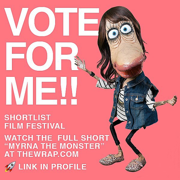 Watch the full short and vote for Myrna!